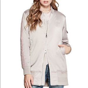 GUESS Edith Longline Bomber Jacket